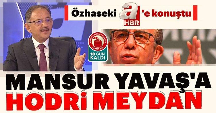 Mansur Yavaş'ın sahte senet skandalı ile ilgili Özhaseki'den flaş açıklama
