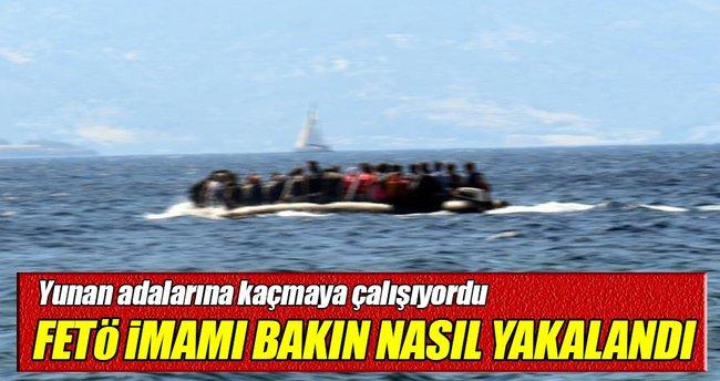 'FETÖ imamı' bottan düşünce yakalandı!
