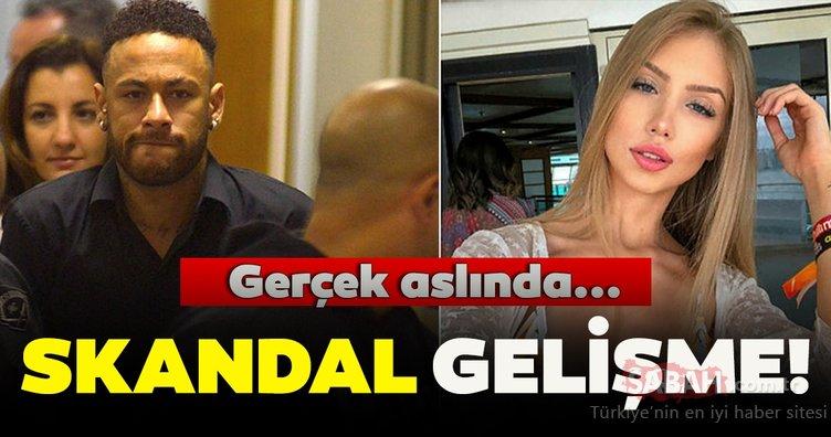Neymar'ın tecavüz davasına ilişkin skandal son dakika gelişmesi! Flaş görüntüler gerçeği ortaya çıkardı!
