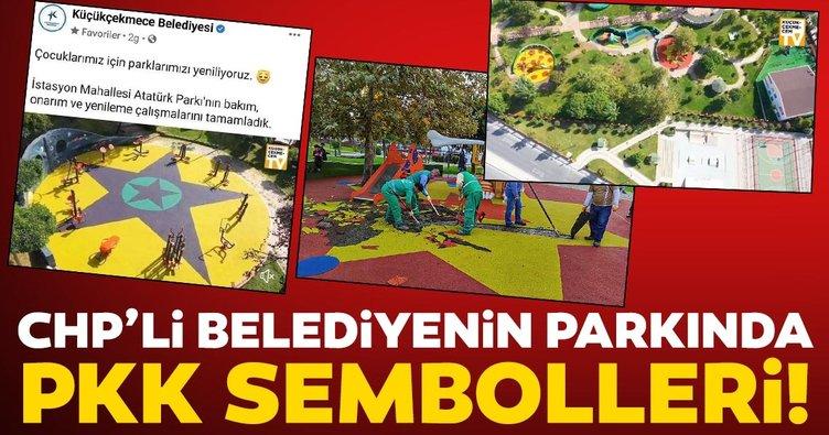 Son dakika haberler: CHP'li Küçükçekmece Belediyesi'nin parkında skandal görseller! Soruşturma açıldı