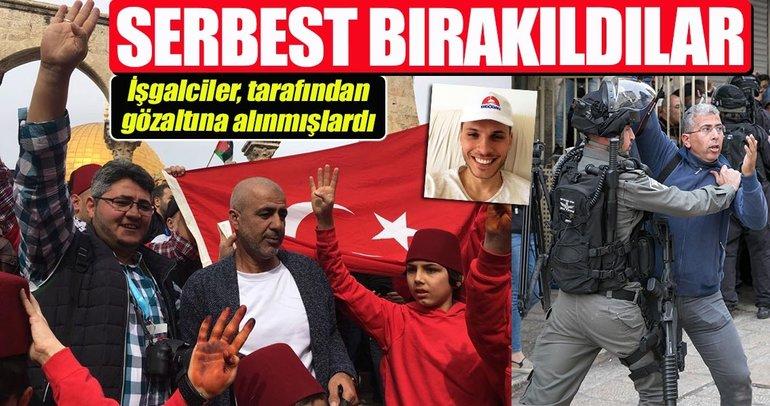 İşgalci İsrail, gözaltına aldığı Türkleri serbest bıraktı