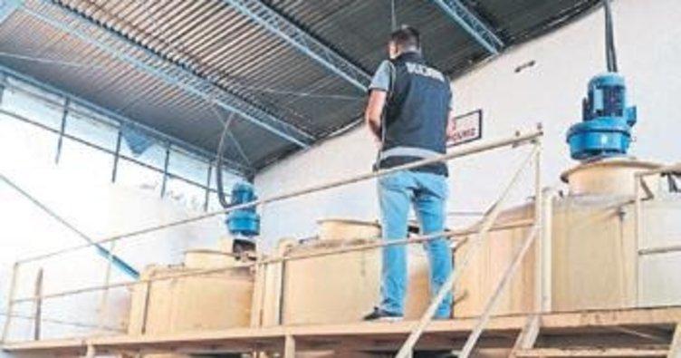 İzmir'de 109 ton kaçak akaryakıt