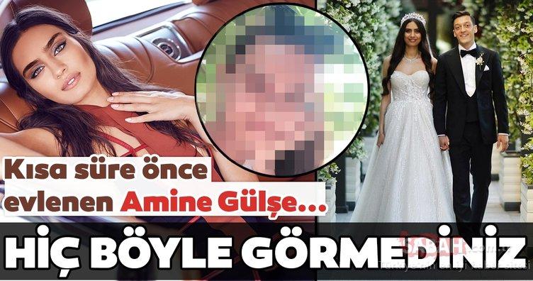 Amine Gülşe duru güzelliğiyle hayran bıraktı!