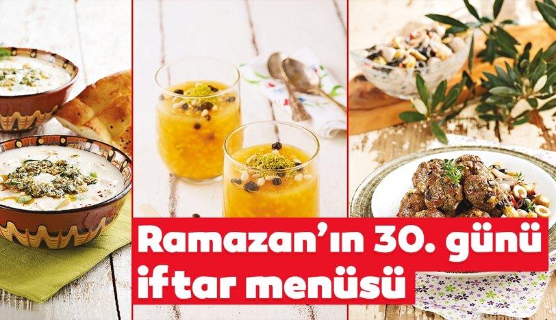30. gün iftar menüsü