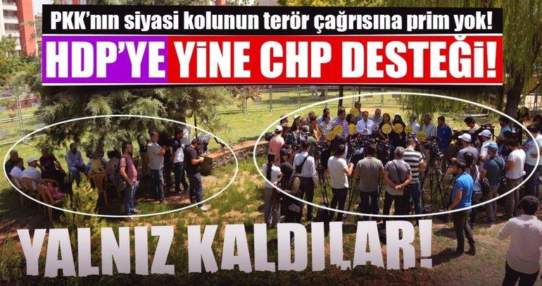 Halktan HDP'ye kırmızı kart