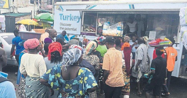 Gana'yı Türk lezzetleri sardı