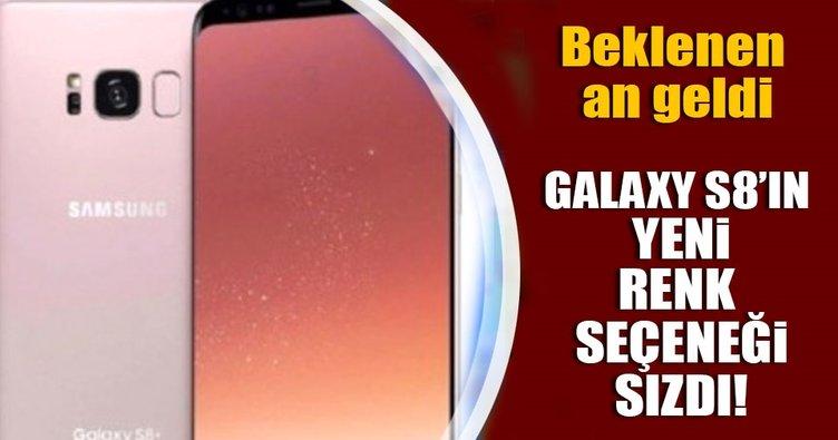 Samsung galaxy S8 'ın yeni rengini açıkladı!