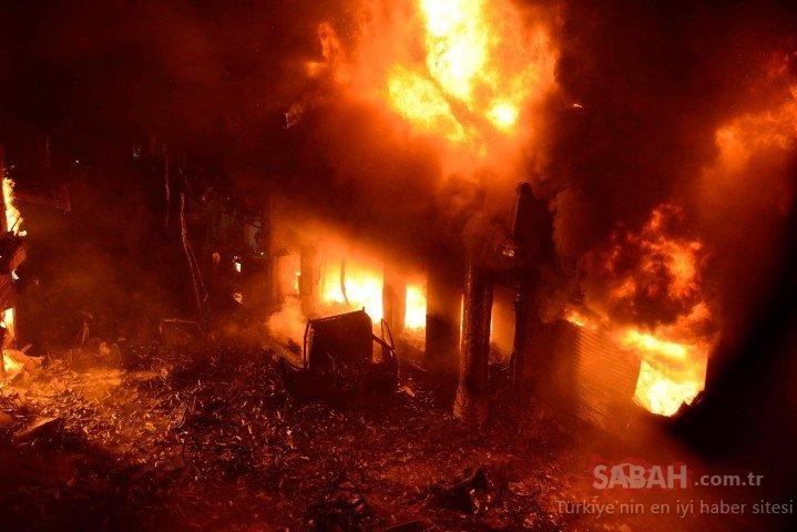 Bangladeş'te yangın faciası: 81 ölü!
