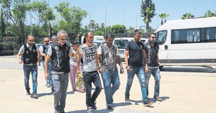 Beş zehir tacirine tutuklama kararı
