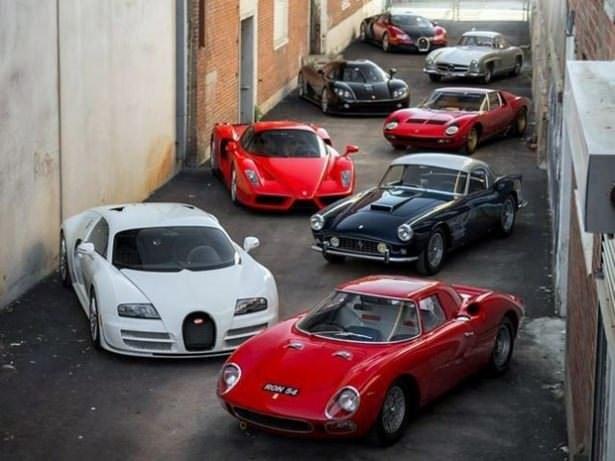 Dünyanın En Pahalı Araba Koleksiyonu Galeri Otomobil 29 Nisan