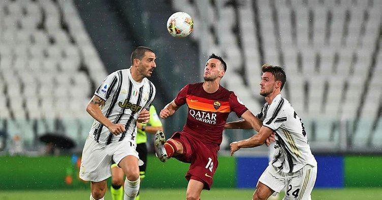 Juventus 1-3 Roma | MAÇ SONUCU