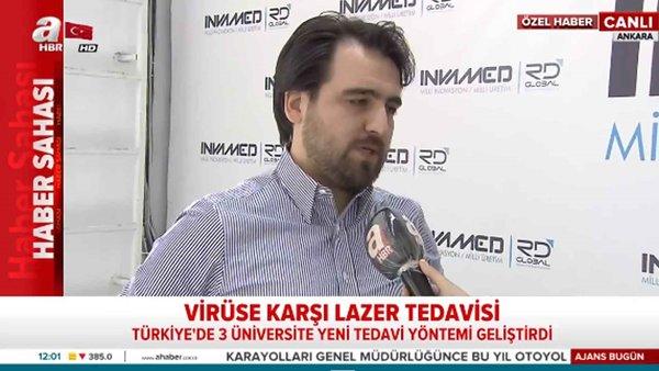 Virüse karşı lazer tedavisi