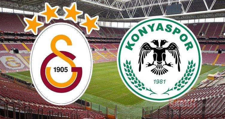 Galatasaray Konyaspor maçı ne zaman, saat kaçta ve hangi kanalda? Muhtemel 11'ler
