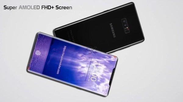 Galaxy Note 9 konsepti ve beklenen özellikleri