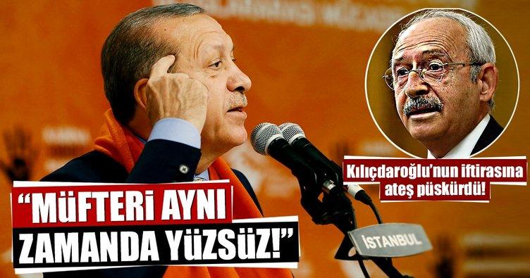 Cumhurbaşkanı Erdoğan'dan Kılıçdaroğlu'nun skandal sözlerine sert tepki!