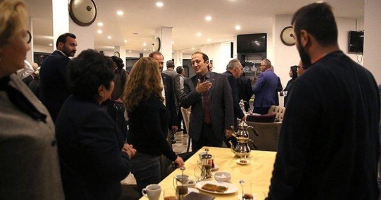 Vali Pehlivan, akademisyenleri akşam yemeğinde ağırladı