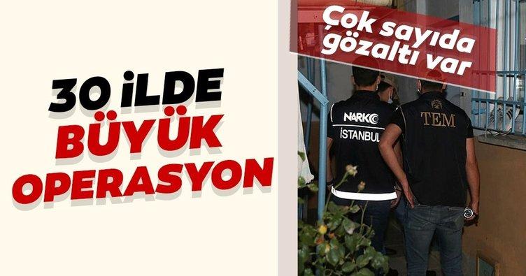 İstanbul merkezli 30 ilde FETÖ'ye büyük operasyon! 76 şüpheliden 59'u yakalandı