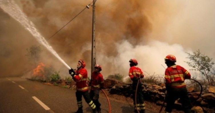 Portekiz'de bir trajedi daha: Uçak düştü