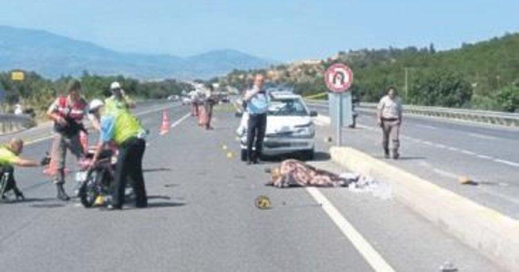Bergama'da trafik kazası: 1 ölü