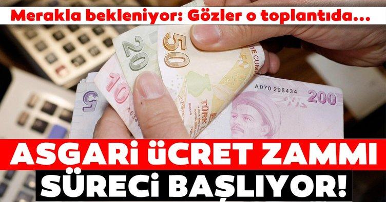 Son dakika Türk-İş'ten asgari ücret zammı açıklaması! 2021 Yeni asgari ücret zammı için geri sayım başladı...