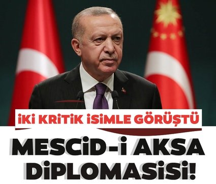 Son dakika: Başkan Erdoğan'dan Mescid-i Aksa diplomasisi! Mahmud Abbas ve İsmail Heniyye ile görüştü