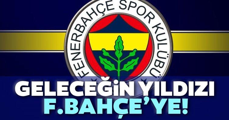 Geleceğin yıldızı Fenerbahçe'ye!