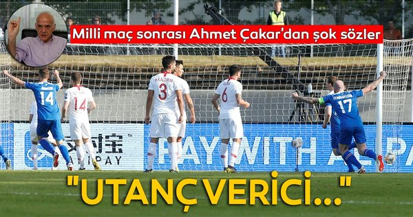Ahmet Çakar İzlanda - Türkiye maçını değerlendirdi