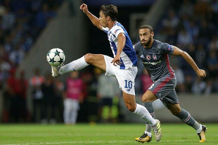 Porto-Beşiktaş maçından kareler