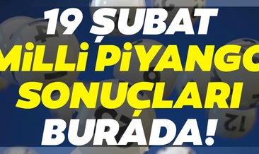 Milli Piyango sonuçları belli oldu! 19 Şubat Milli Piyango çekiliş sonuçları ve bilet sorgulama sayfası ile SIRALI TAM LİSTE...