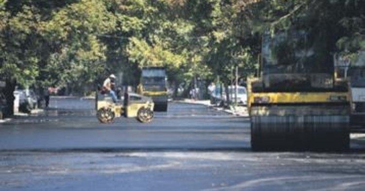 Atatürk Bulvarı'nda 3 gün asfalt çalışması