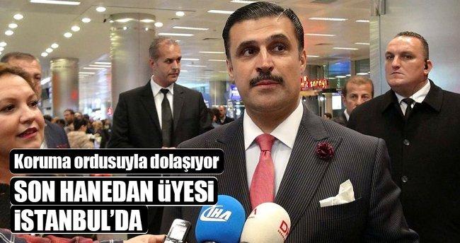 İş adamı Babek Mirza, İstanbul'da