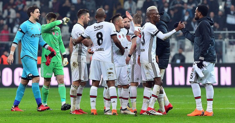 İkinci yarıda namağlup tek takım Beşiktaş!