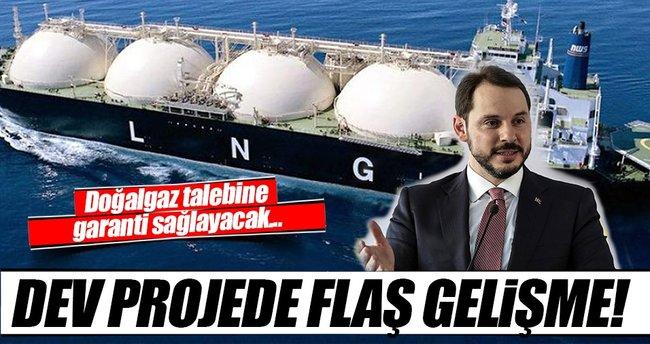 İkinci LNG gemisi geliyor!