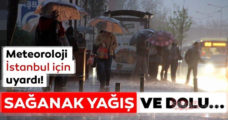 Meteoroloji'den İstanbul başta olmak üzere birçok il için son dakika yağış ve hava durumu uyarısı geldi!