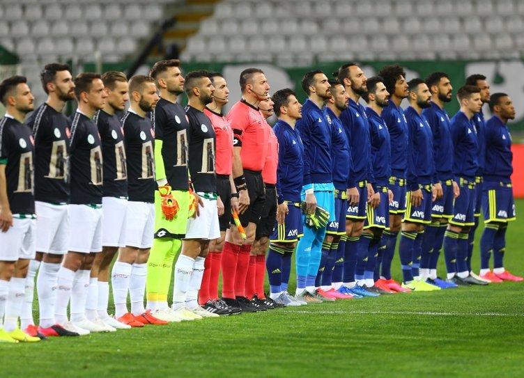 Spor yazarları Konyaspor-Fenerbahçe maçını değerlendirdi