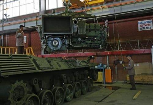 TSK'nın tankları Kayseri'de böyle modernize ediliyor