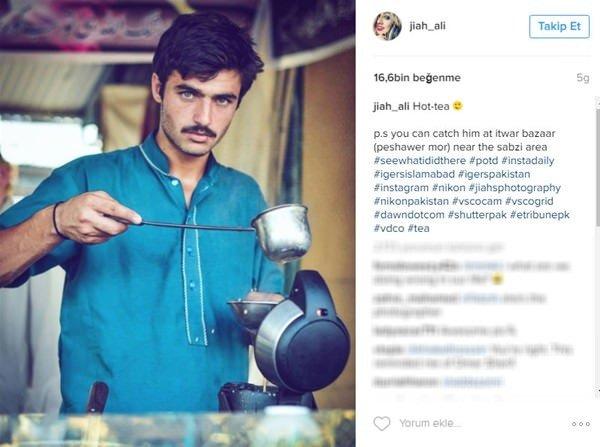 Dünyanın en yakışıklı çaycısı!