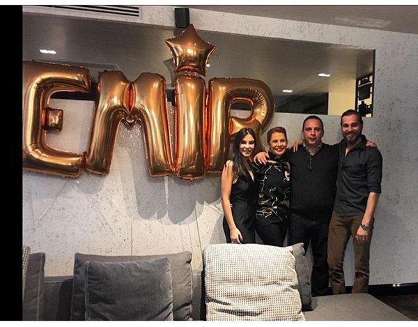Engin Altan Düzyatan ve ailesi Emir'in yeni yaşını kutladı