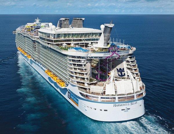 O dünyanın en büyük gemisi