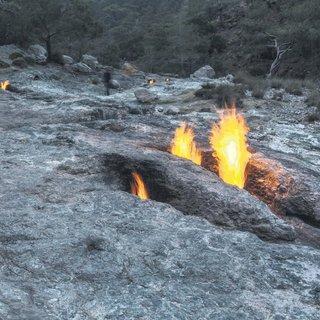 Sönmeyen ateş Yanartaş