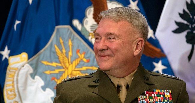 """ABD Merkez Kuvvetler Komutanı Orgeneral McKenzie'den """"Irak"""" açıklaması -  Son Dakika Haberler"""