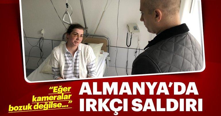 Türk kadına tramvayda ırkçı saldırı