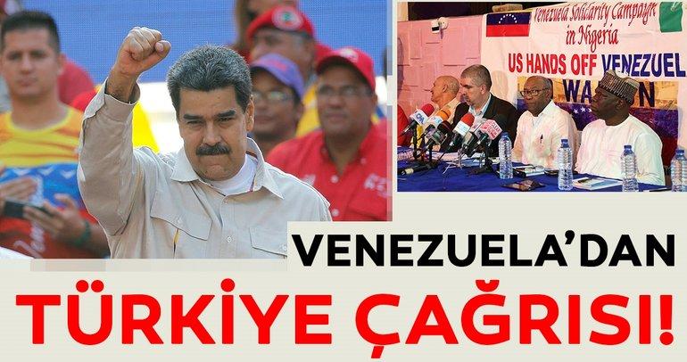 Venezuela'dan Türkiye çağrısı