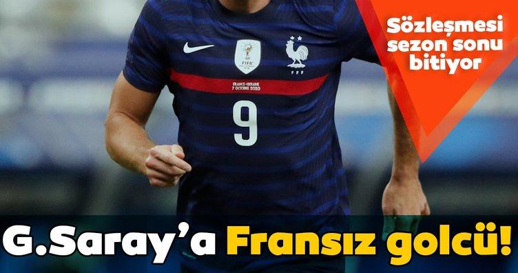 Galatasaray'a Fransız golcü! Sözleşmesi sezon sonu bitiyor