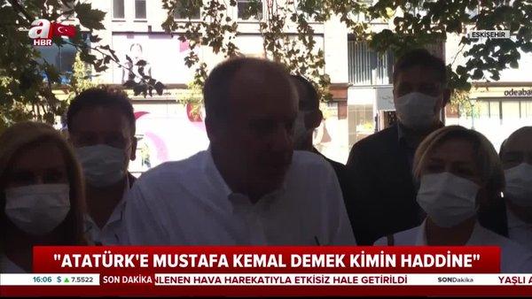 Muharrem İnce'den CHP İl Başkanı Canan Kaftancıoğlu'na sert tepki!