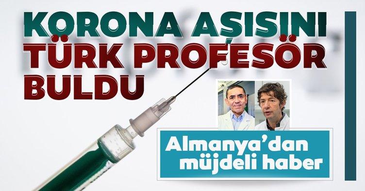Almanya'dan müjdeli haber! Korona aşısını Prof. Uğur Şahin buldu