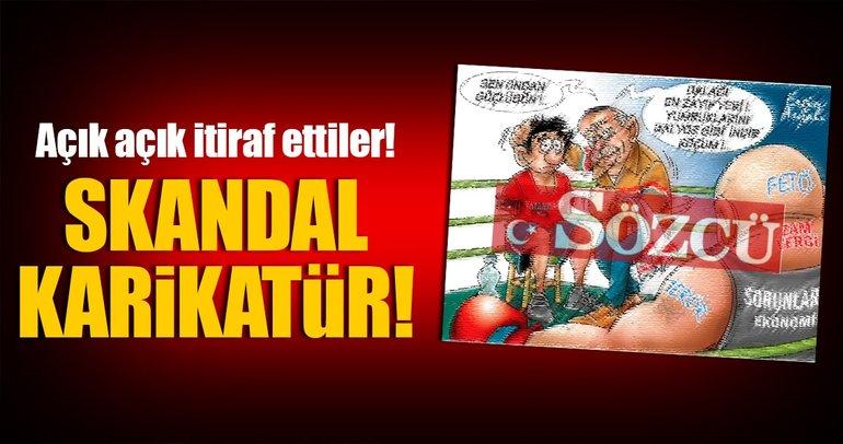 Sözcü Gazetesi'nden büyük skandal!