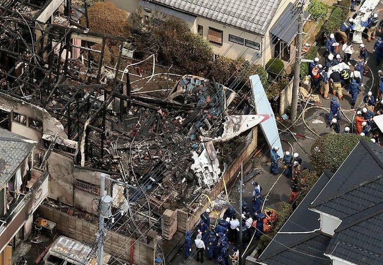 Japonya'da korkunç kaza