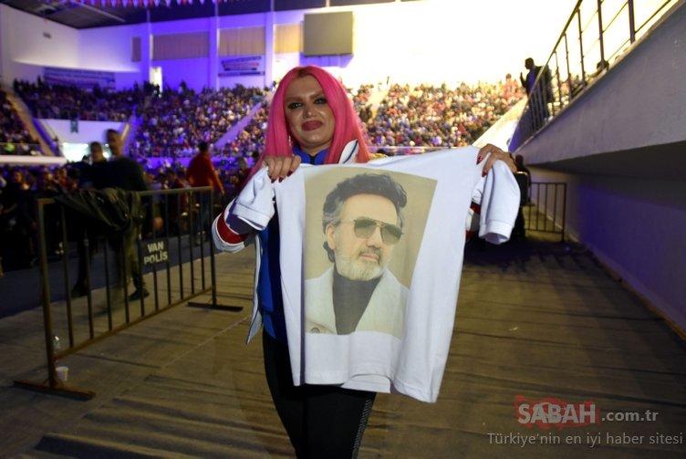 İranlılar onu görmek için Van'a akın etti!