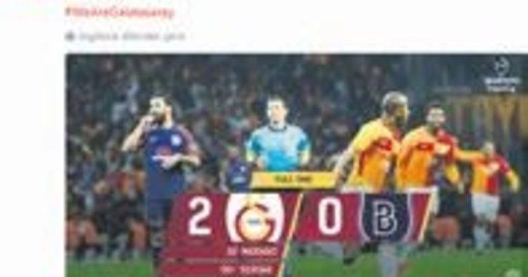 Galatasaray'dan Başakşehir'e gönderme!..